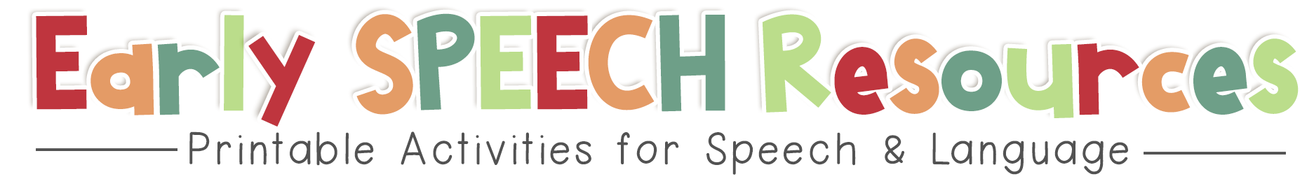Early Speech Resources